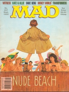 Go to MAD Magazine #257