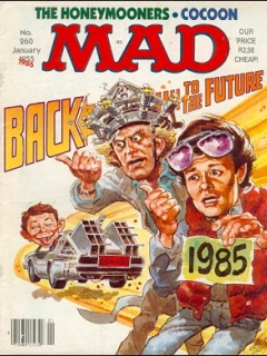Go to MAD Magazine #260