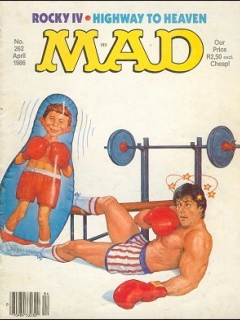 Go to MAD Magazine #262