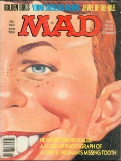 Go to MAD Magazine #263