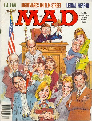MAD Magazine #274 • South Africa