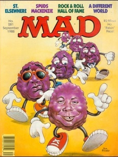 Go to MAD Magazine #281 • South Africa