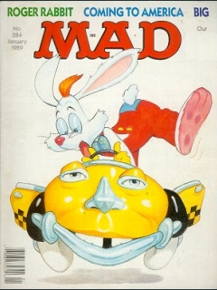 Go to MAD Magazine #284