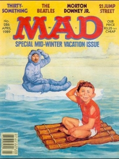Go to MAD Magazine #286