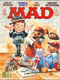Go to MAD Magazine #296