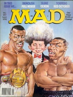Go to MAD Magazine #297