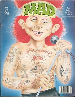 MAD Magazine #310 • South Africa