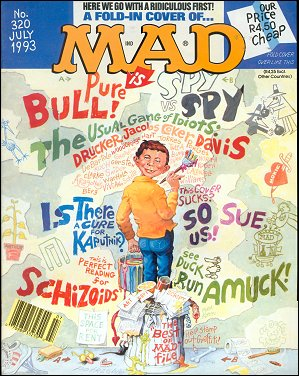 MAD Magazine #320 • South Africa