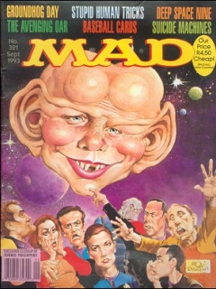 Go to MAD Magazine #321
