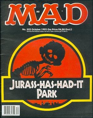 MAD Magazine #322 • South Africa