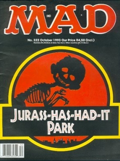 Go to MAD Magazine #322