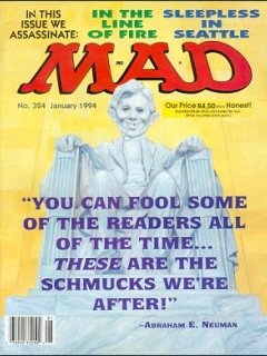 Go to MAD Magazine #324 • South Africa