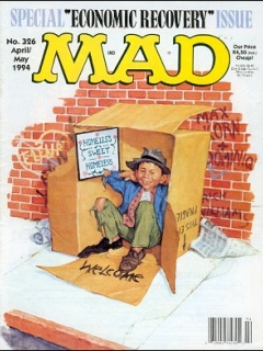 Go to MAD Magazine #326