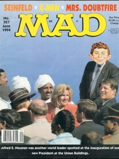 Go to MAD Magazine #327