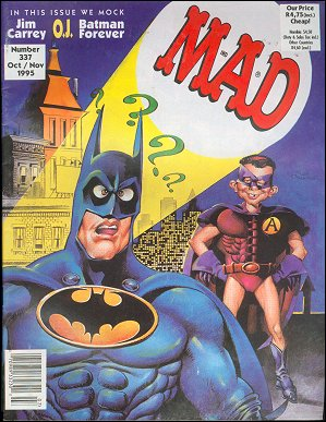 MAD Magazine #337 • South Africa