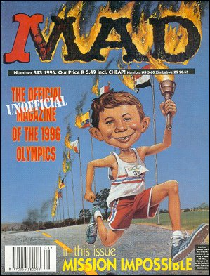 MAD Magazine #343 • South Africa