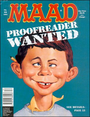 MAD Magazine #355 • South Africa