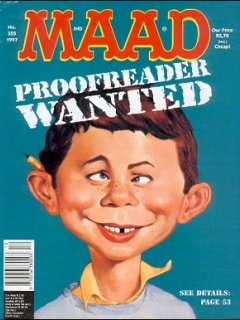Go to MAD Magazine #355