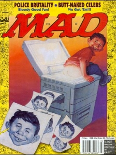 Go to MAD Magazine #358