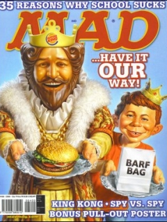 Go to MAD Magazine #409