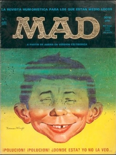 Go to MAD Magazine #1 • Spain • 1st Edition - MAD