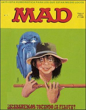 MAD Magazine #2 • Spain • 1st Edition - MAD