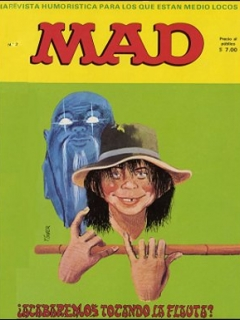 Go to MAD Magazine #2 • Spain • 1st Edition - MAD
