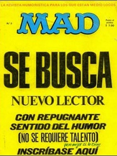 Go to MAD Magazine #3 • Spain • 1st Edition - MAD