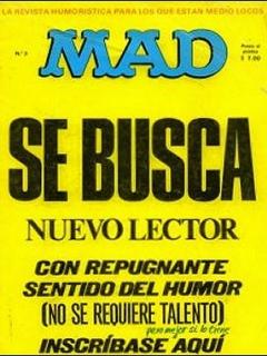 MAD Magazine #3 • Spain • 1st Edition - MAD