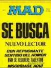 MAD Magazine #3 • Spain • 1st Edition - MAD