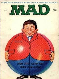 MAD Magazine #4 • Spain • 1st Edition - MAD