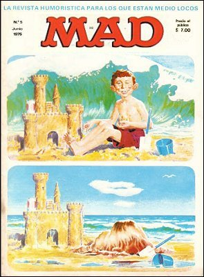 MAD Magazine #5 • Spain • 1st Edition - MAD