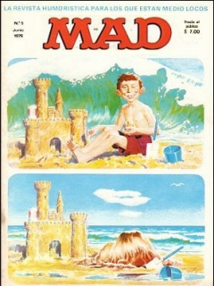 Go to MAD Magazine #5 • Spain • 1st Edition - MAD