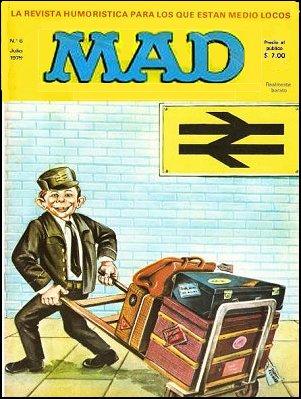 MAD Magazine #6 • Spain • 1st Edition - MAD