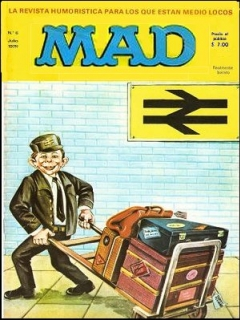 Go to MAD Magazine #6 • Spain • 1st Edition - MAD