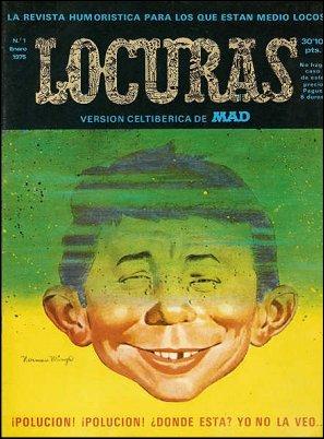 MAD Magazine #1 • Spain • 2nd Edition - Locuras