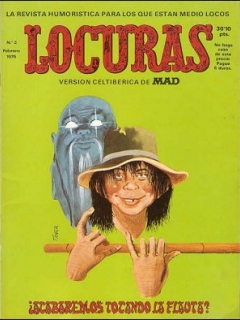 Go to MAD Magazine #2 • Spain • 2nd Edition - Locuras