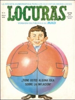 Go to MAD Magazine #4 • Spain • 2nd Edition - Locuras