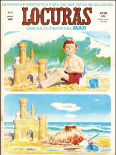 Go to MAD Magazine #5 • Spain • 2nd Edition - Locuras