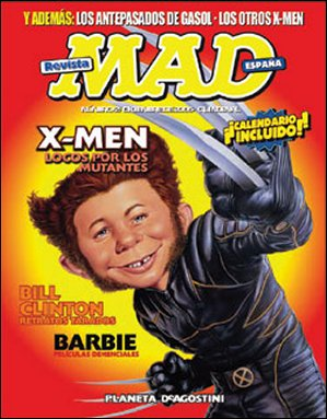 MAD Magazine #2 • Spain • 3rd Edition - Planeta DeAgostini