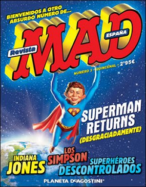 MAD Magazine #3 • Spain • 3rd Edition - Planeta DeAgostini