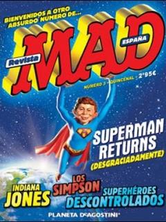 Go to MAD Magazine #3 • Spain • 3rd Edition - Planeta DeAgostini