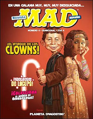 MAD Magazine #4 • Spain • 3rd Edition - Planeta DeAgostini