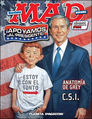 MAD Magazine #5 • Spain • 3rd Edition - Planeta DeAgostini