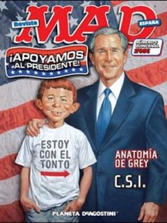 Go to MAD Magazine #5 • Spain • 3rd Edition - Planeta DeAgostini