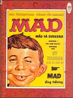 Go to MAD Magazine #1 1959 • Sweden
