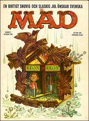 MAD Magazine #2 • Sweden