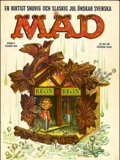 Go to MAD Magazine #2 1959 • Sweden