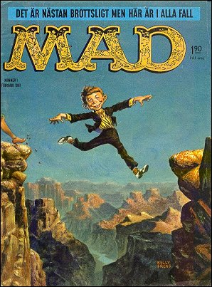 MAD Magazine #3 • Sweden