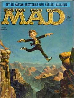 Go to MAD Magazine #1 1960 • Sweden